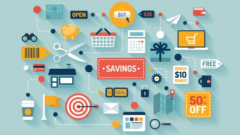 photodune-6590772-commerce-and-savings-flat-illustration-m
